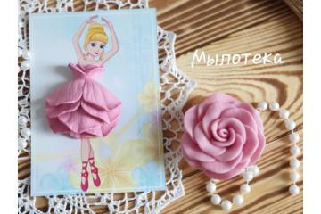 Платье для куколки Роза