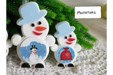 Снеговик под картинку мини