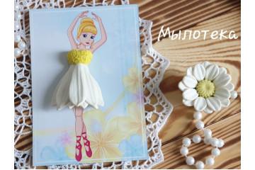 Платье для куколки Ромашка