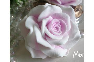 Роза невеста большая