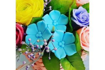 Синий цветочек