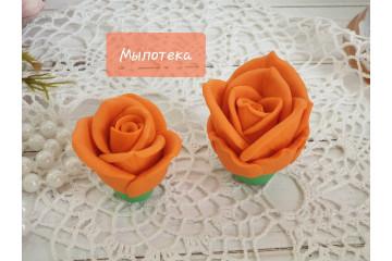 Роза Оранж малая